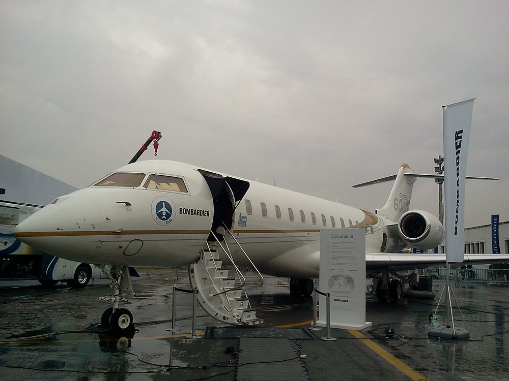 Bombardier Global 6000:
