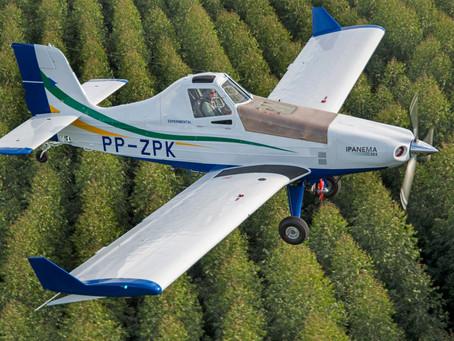 Aviação: Vendas do avião agrícola Ipanema da Embraer aumentam 48% em 2021