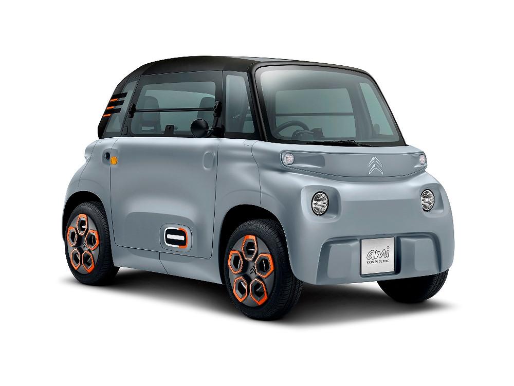 Ami, a mobilidade 100% elétrica e acessível da Citroën