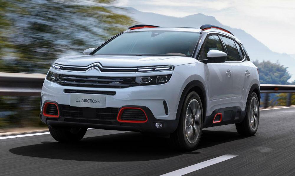 Revelado o Citroën C5 Aircross