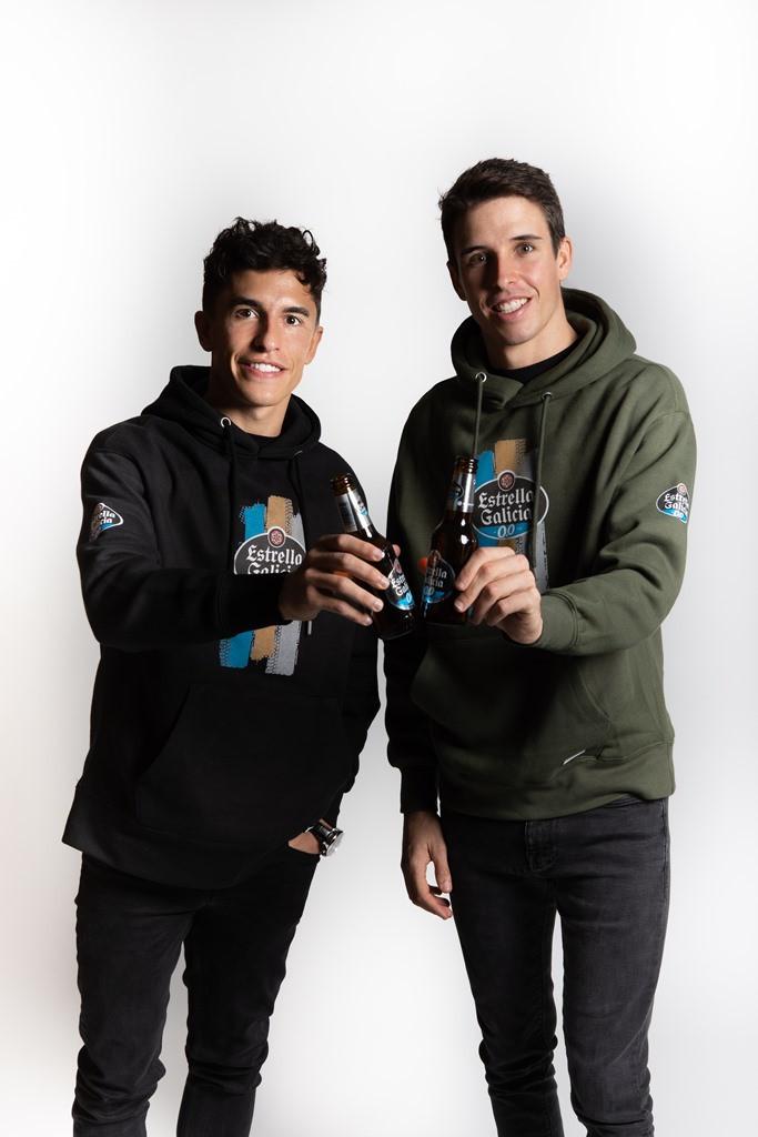 MotoGP: Estrella Galicia 0,0 renova com irmãos Álex e Marc Márquez