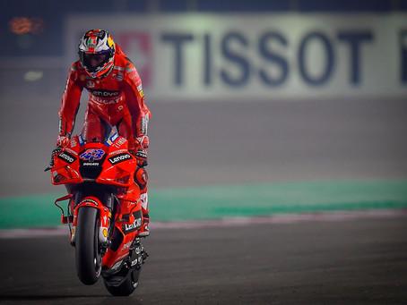 MotoGP: Miller comanda a armada da Ducati nos treinos de sexta feira em Doha