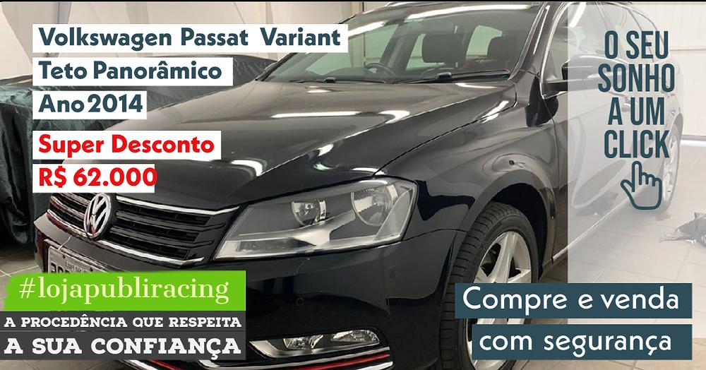 NA #LOJA PUBLIRACING - Volkswagen Passat Variant - Ano 2014