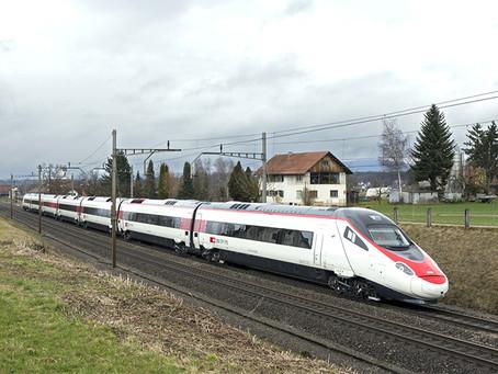 Entregue o último Pendolino ETR 610 para os caminhos de ferro suíços