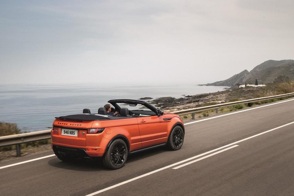 Range Rover Evoque conversível começa pré-vendas no Salão do Automóvel de São Paulo