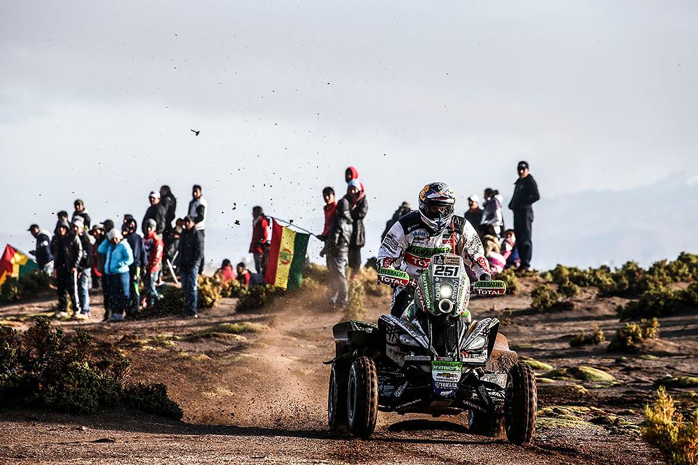 Dakar: Loeb vence etapa e recupera a liderança. Etapa de quarta feira é cancelada.