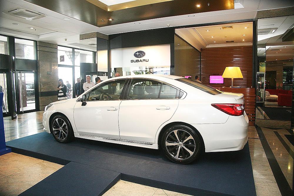 Subaru em destaque no principal centro de negócios da América Latina