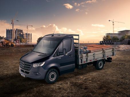 Mercedes-Benz Vans anuncia Sprinter Truck como nova denominação para a categoria Chassi