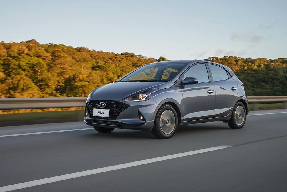 Hyundai apresenta linha 2021 do HB20 1.0 Turbo