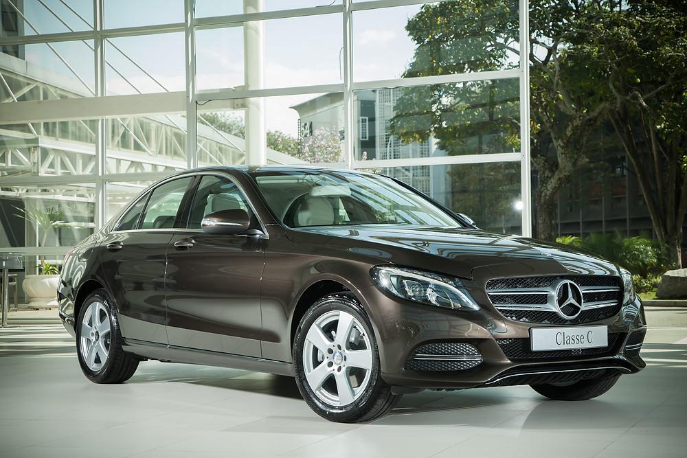 Quinta geração do Classe C impulsiona vendas da Mercedes-Benz no Brasil