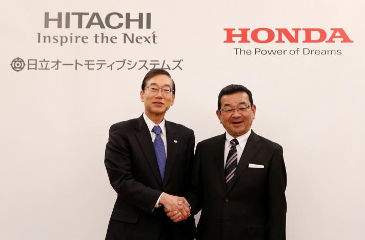 Hitachi Sistemas Automotivos e Honda assinam acordo para formação de joint venture para a produção de motores elétricos