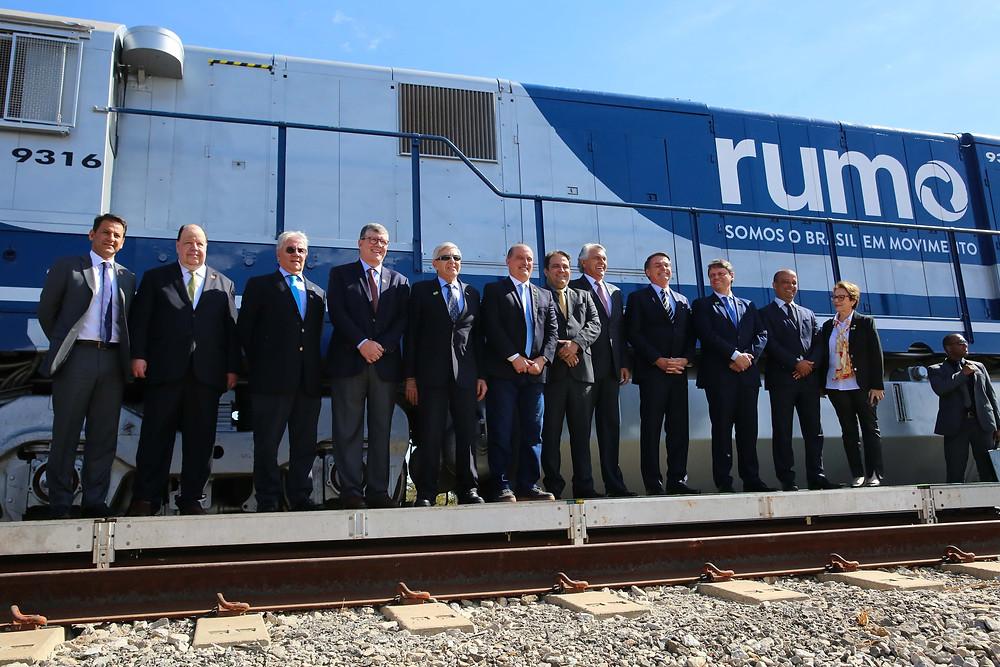Rumo assina contrato de concessão para  Ferrovia Norte-Sul com duração de 30 anos