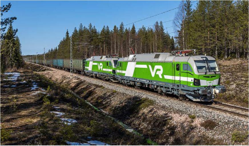 Ferrovia: Finlândia testa trem de carga com 830 metros