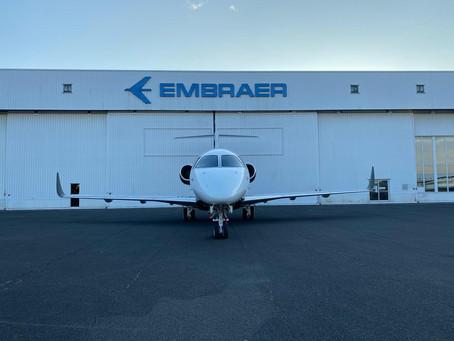 Aviação: Embraer conclui primeira conversão de Praetor 500 na Europa