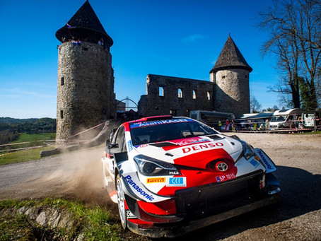 WRC: Ogier lidera batalha emocionante no rali da Croácia