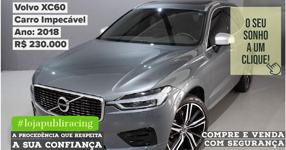 ACESSE #LOJA CLICANDO - Volvo XC60 - Ano 2018