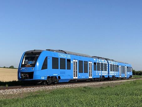 Ferrovia: Trem a hidrogênio da Alstom recebeu o European Railway Award 2021