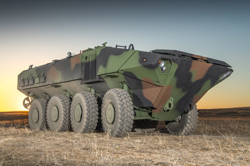 Plataforma blindada do carro anfíbio da Iveco será adotada pela BAE Systems