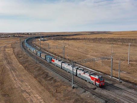 Ferrovia: Rússia conclui eletrificação do último trecho de 365 km da ligação com a China