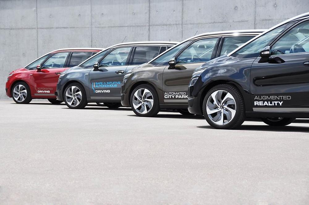 Na França, grupo PSA vai realizar testes de veículos autônomos com condutores comuns.