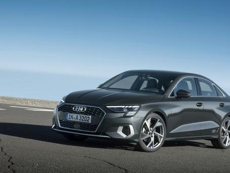Produzidos na Alemanha, nova geração do Audi A3 Sedan e Sportback entram em pré-venda no Brasil