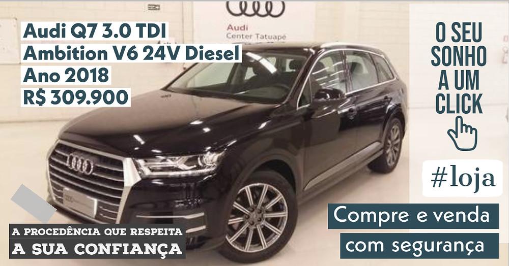 A #LOJA PUBLIRACING - Audi Q7 3.0 TDI Ambition V6 24V Diesel