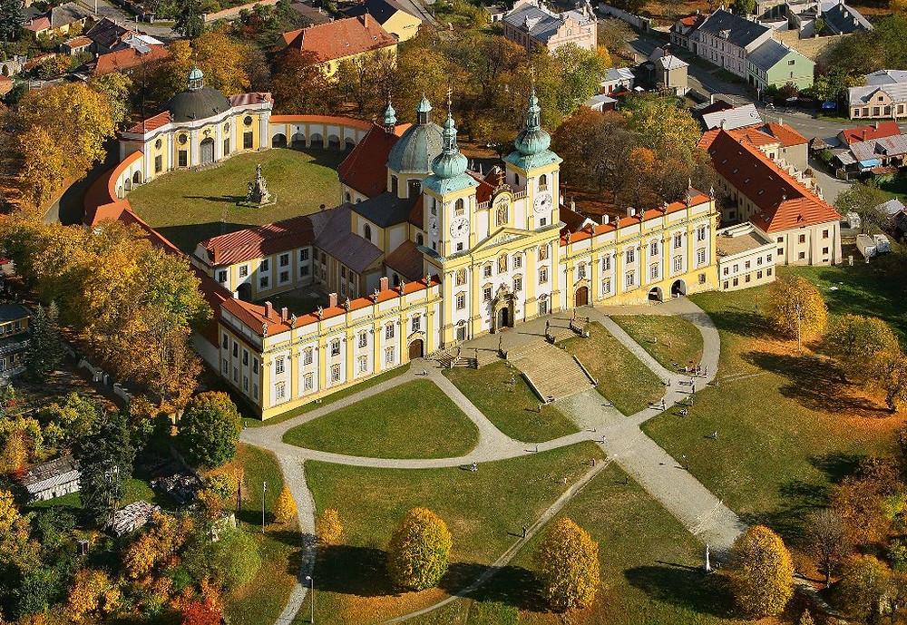 Mosteiro da Colina Santa, em Olomouc.