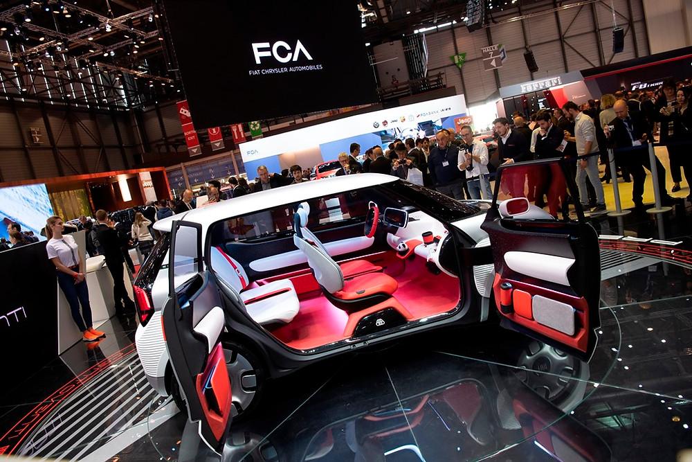 No seu 120º aniversário, Fiat apresenta em Genebra o Centoventi, conceito elétrico e urbano