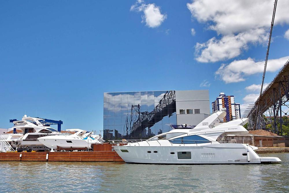 Schaefer Yachts Show apresenta barco de 56 pés do estaleiro catarinense