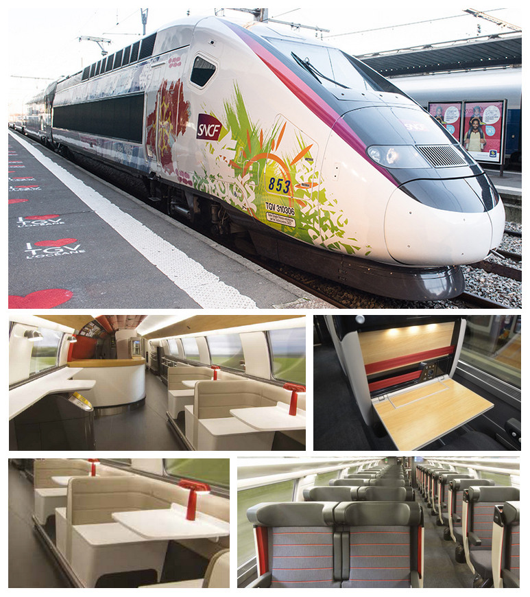 Mais quinze Euroduplex Océane da Alstom para a linha Sud Europe Atlantique da SNCF