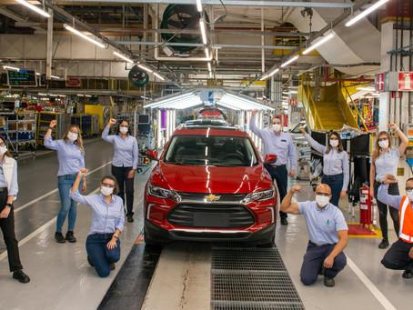 Chevrolet Tracker alcança 100 mil unidades produzidas