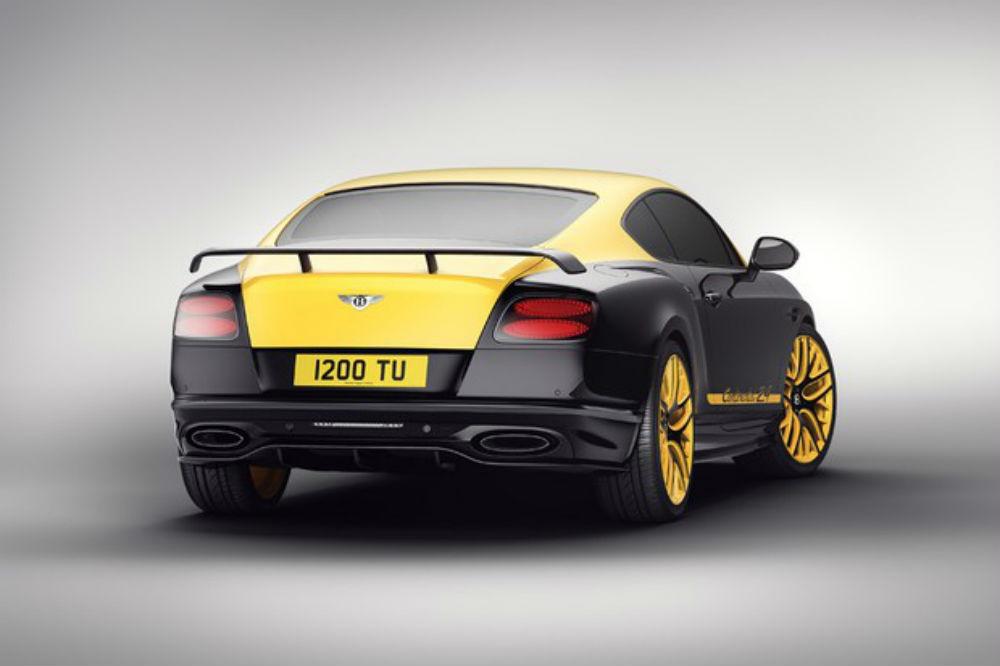 Bentley apresenta uma edição limitada do Continental com 710 CV