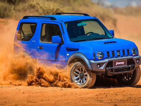Divertido e a partir de R$ 68.490,00 Suzuki Jimny é o 4x4 mais barato do Brasil