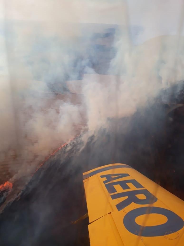 Aviação: Empresa aeroagrícola de Goiás treina pilotos para a temporada de incêndios 2020