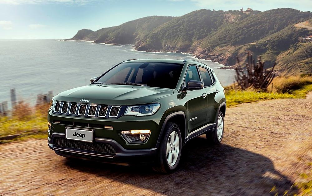 Jeep Compass ganha edição limitada Sport 4x4 por R$ 117.990