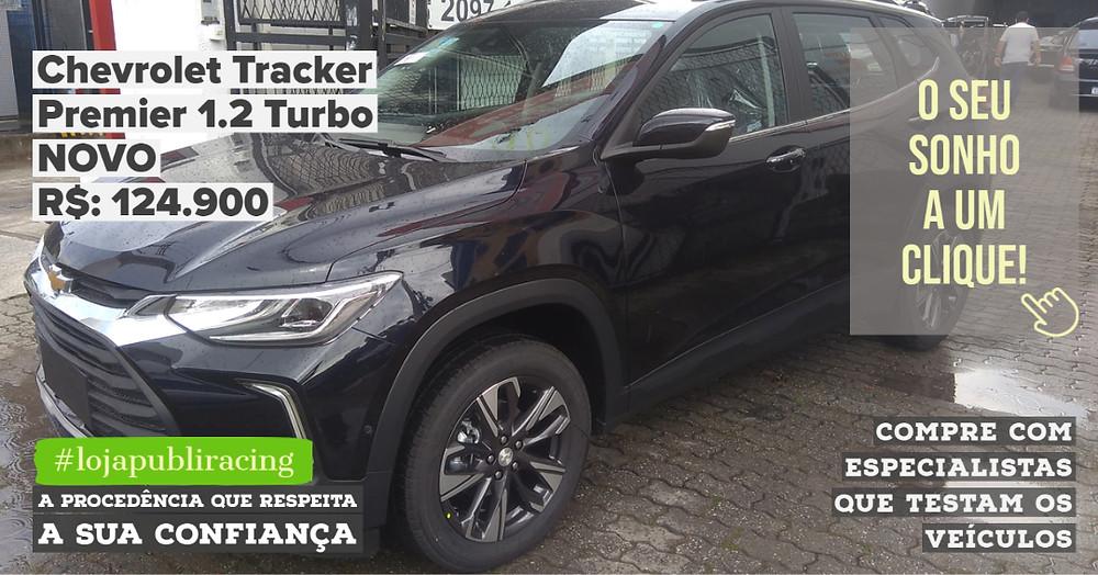 ACESSE #LOJAPUBLIRACING CLICANDO - Chevrolet Tracker Premier 1.2 Turbo NOVO