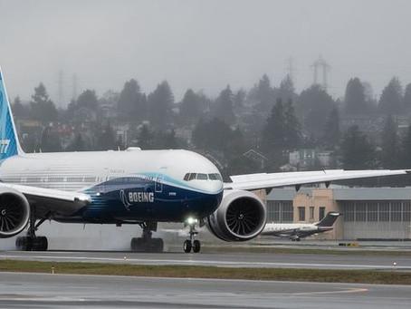 Aviação: EUA e Japão suspendem voos de Boeing 777 com motores Pratt & Whitney 4000-112