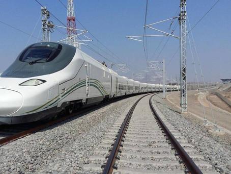 Ferrovia: Após um ano parado, serviço comercial de alta-velocidade AVE Medina-Meca é retomado