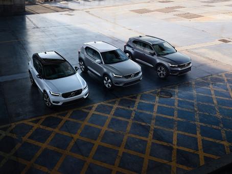 Volvo XC40 ganha novas versões com motorização híbrida
