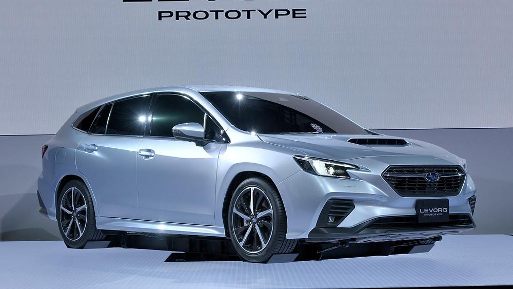 Expressas: Subaru Levorg 2020 debuta no Japão