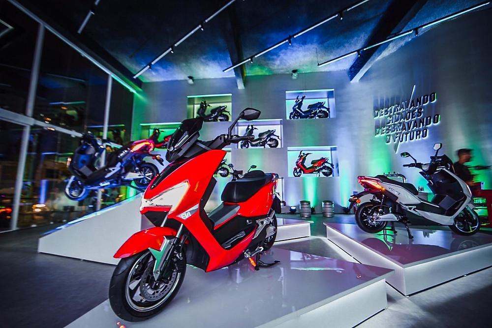 Moto: Voltz Motors inaugura loja em São Paulo e inicia pré-venda de novo modelo