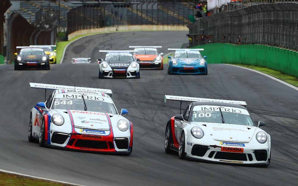 Porsche Cup: Coletta e Werner vencem na 4.0 em Interlagos, com Felipe Baptista e Iorio triunfando na 3.8