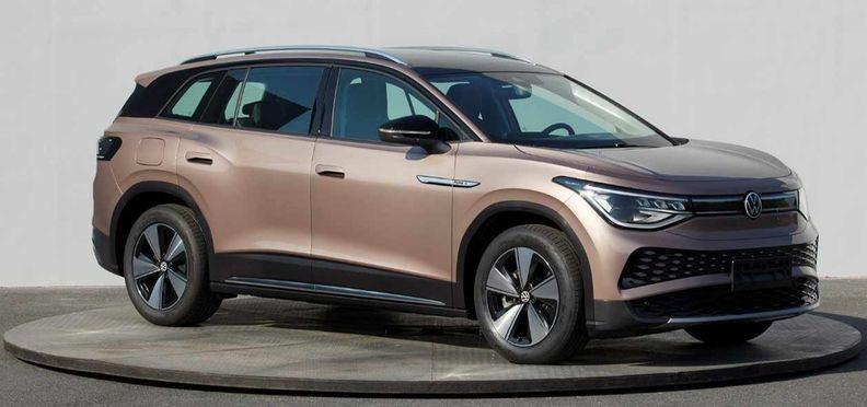 Expressas: Crossover VW ID6 é visto em fotos oficiais na China