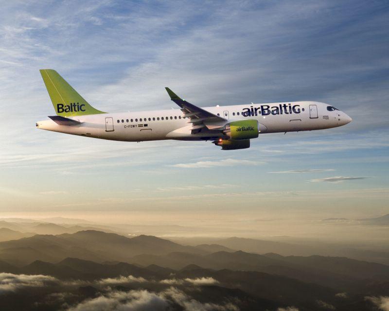 AirBaltic anuncia pedido para mais 30 Bombardier CS300