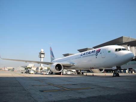 Aviação: Latam prossegue transferência dos serviços em solo para empresas especializadas