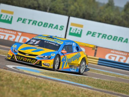 Stock Car: eficiente e veloz, Camilo crava quinta pole em seis etapas