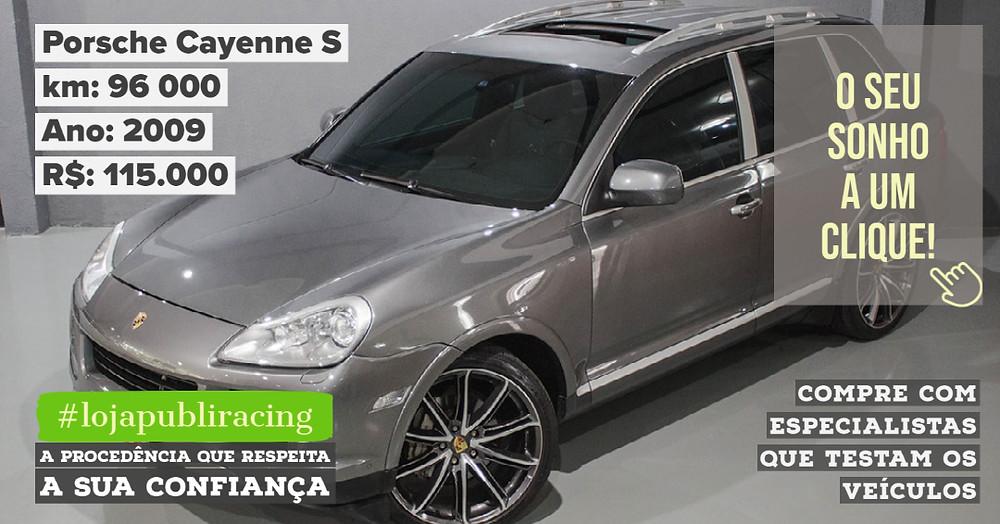 ACESSE #LOJA PUBLIRACING - Porsche Cayenne S Ano 2009
