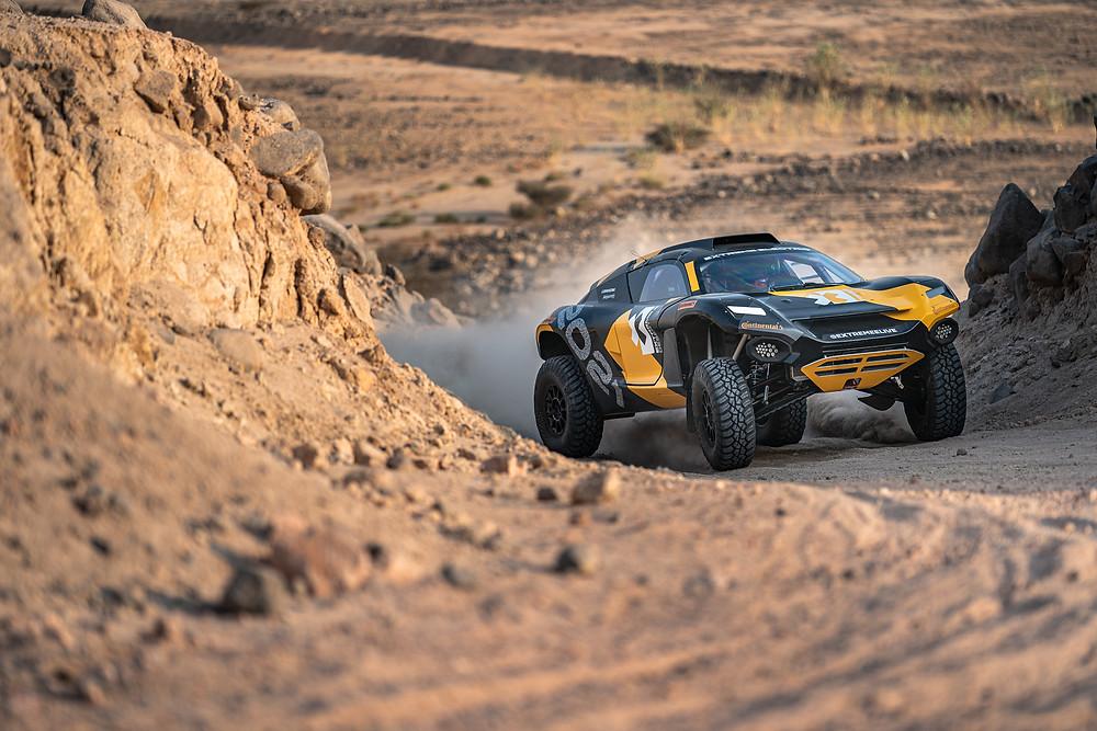 No deserto, Extreme E se prepara para o X Prix inaugural