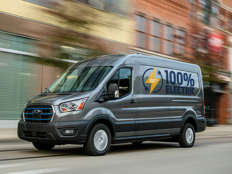 Ford apresentou na Europa a E-Transit, versão elétrica da van global