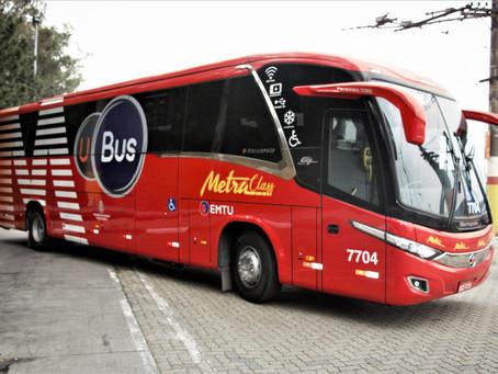 Metra e UBus criam serviço de ônibus coletivo urbano sob demanda e com veículos diferenciados